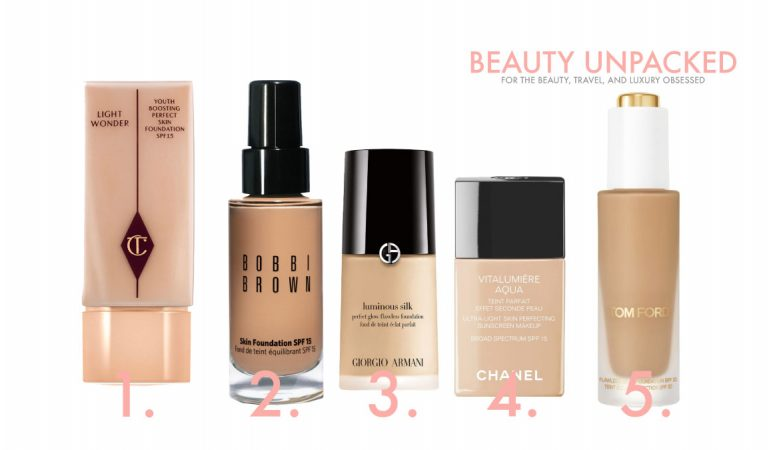 5 Lightweight make-up Foundations I'm obsessed with.