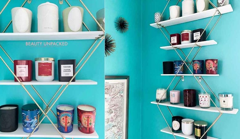 Beauty Blogger Shares her luxury candle collection